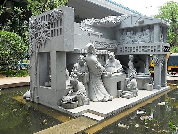 文化石雕刻