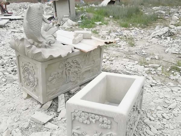 青石雕刻文化石