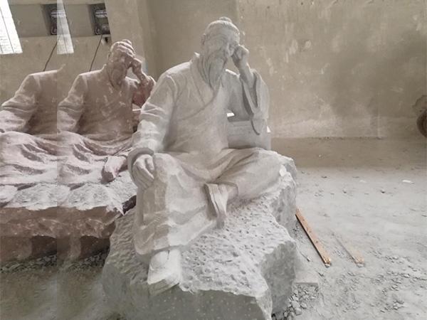 文化石雕刻人像