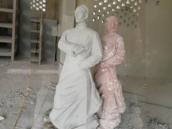 隆昌人像雕刻