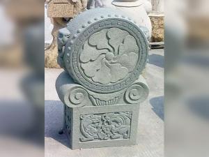 青石雕刻景观石柱